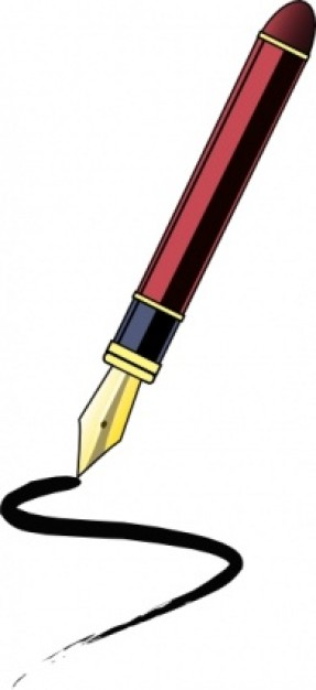 287x626 Ink Pen Clip Art Clipart Panda