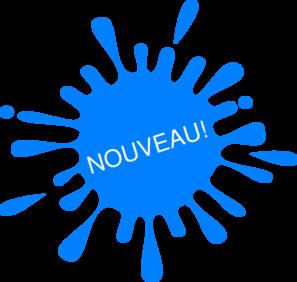 297x282 Nouveau Blue Splash Ink Png, Svg Clip Art For Web