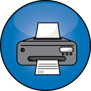 300x300 Printer Clipart Image