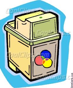 249x300 Ink Cartridge Vector Clip Art