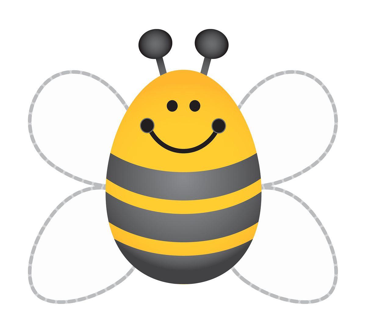 1200x1091 Bumblebee Template
