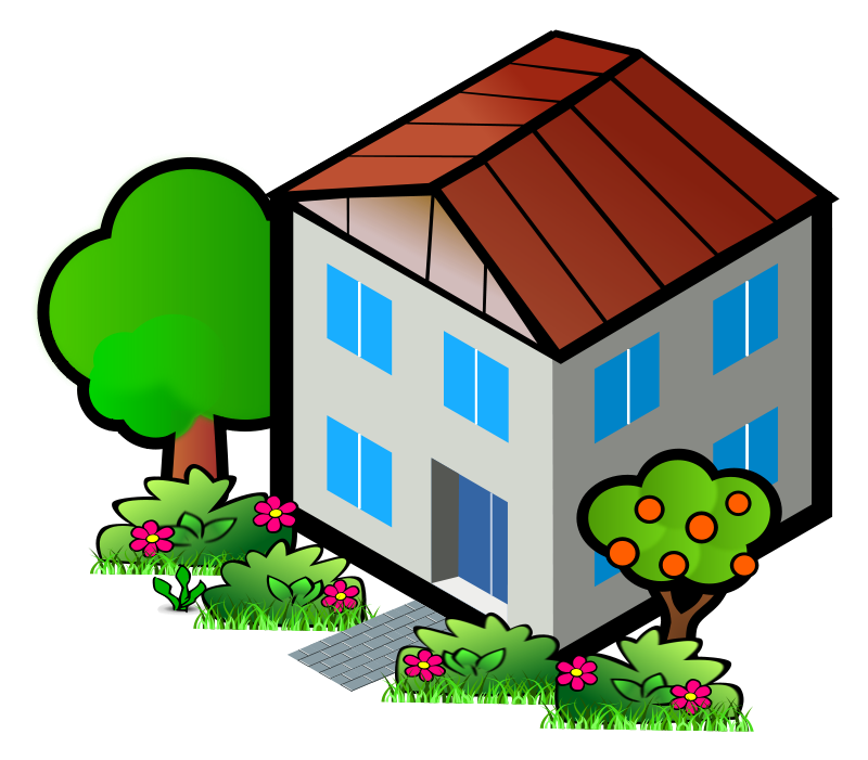 Inside House Clipart