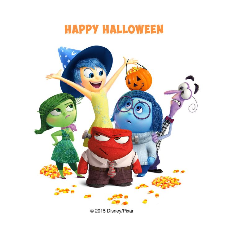 Inside Out Characters Clipart