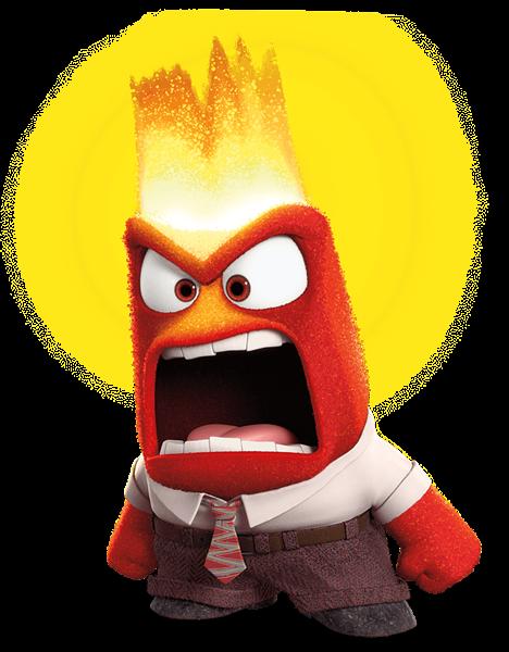 468x600 Anger Inside Out Transparent Png Clip Art Image Disney Clip