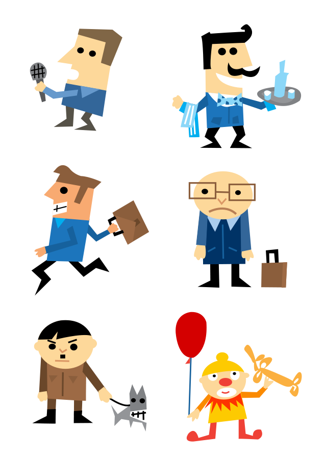 637x900 Character Clipart