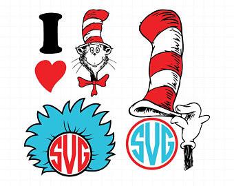 340x270 Free Dr Seuss Clip Art Inspirational Dr Seuss Svg