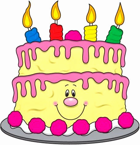 454x471 Birthday Cake Clip Art Free Inspirational 337 Best Clipart Images