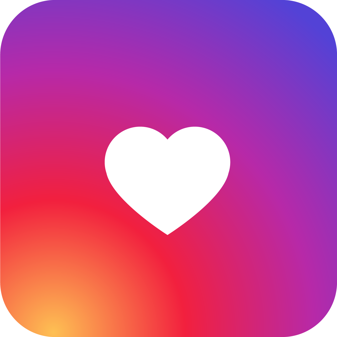 1413x1412 Instagram Heart Png Images A Picture Library Png Only