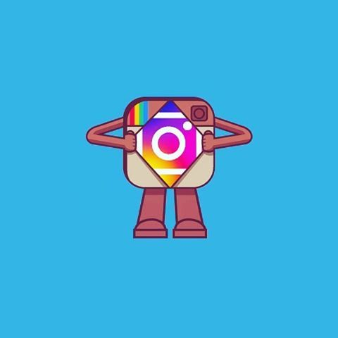 480x480 Instagramm Clipart Logo Art