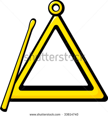 434x470 Instrument Clipart Triangle