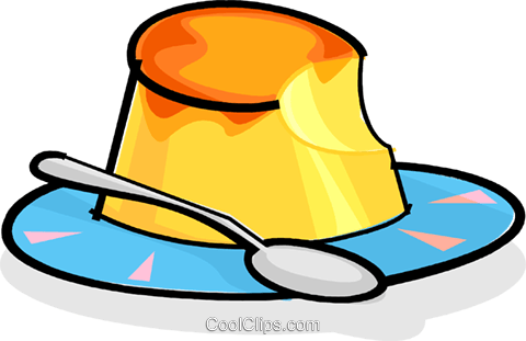 480x311 Dessert On A Plate Royalty Free Vector Clip Art Illustration