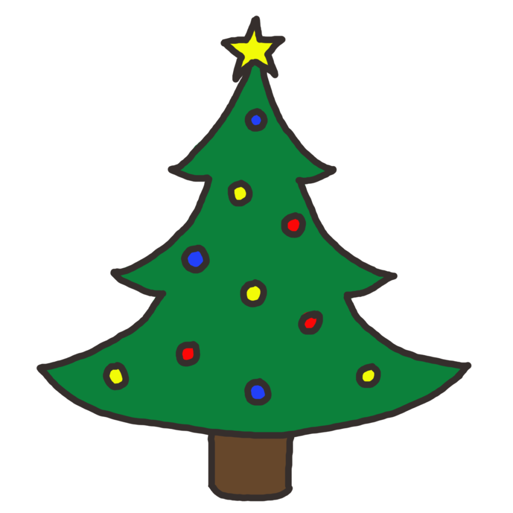 1024x1024 Christmas Tree Clip Art Christmas Tree Clipart Woodward Avenue