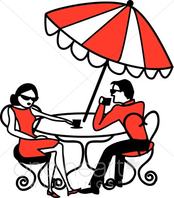 341x388 International Cafe Clipart Honeymoon Clipart
