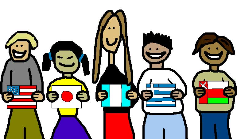 772x454 International Students Clipart