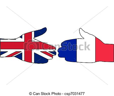 450x380 International Handshake Vectors Illustration