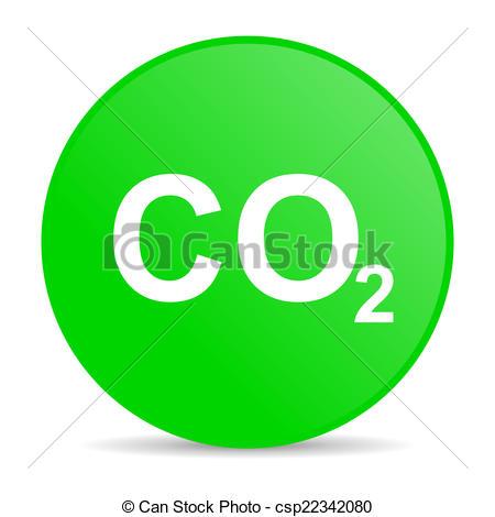 450x470 Carbon Dioxide Internet Icon Stock Illustration