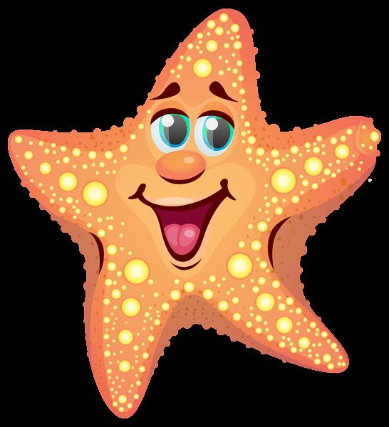 546x600 Cartoon Starfish Png Clipart Image Summer Clip