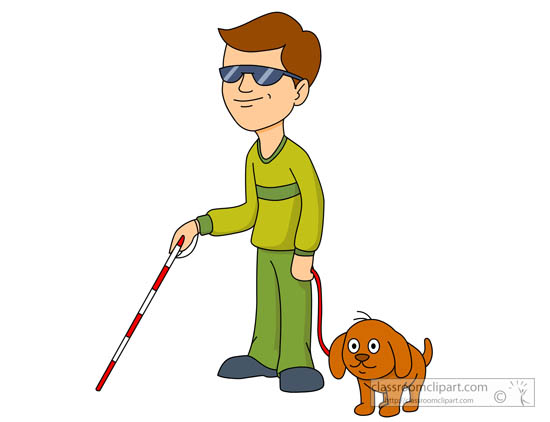 550x422 Blind Amp Visually Impaired Clipart