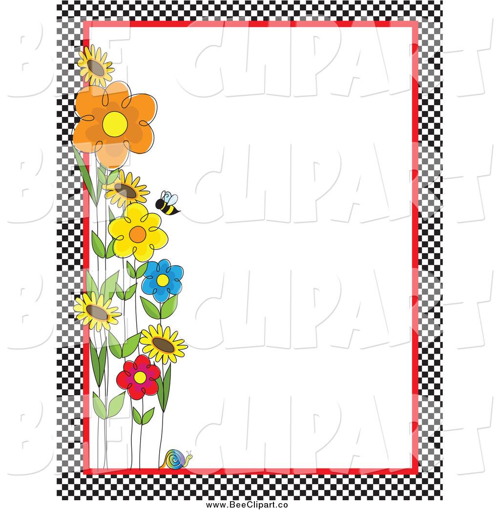 1024x1044 Bee Border Clip Art