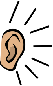 183x297 Listening To Ipod Clipart Right Ear