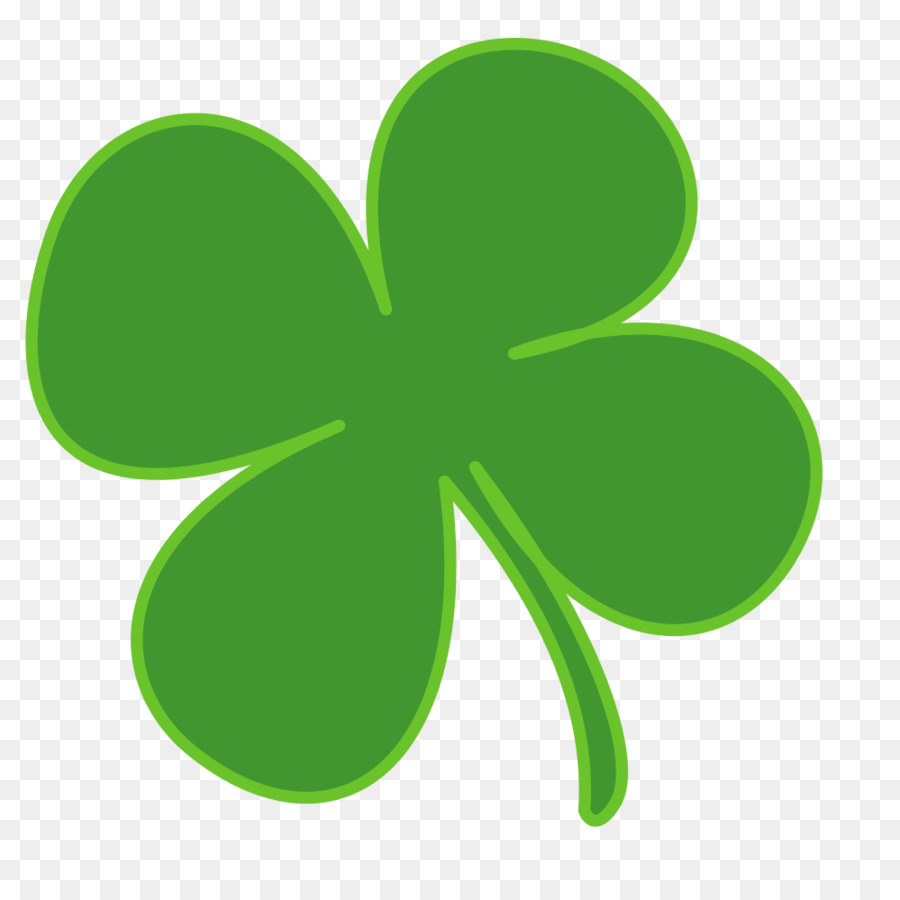 900x900 Ireland Shamrock Saint Patrick's Day Four Leaf Clover Clip Art