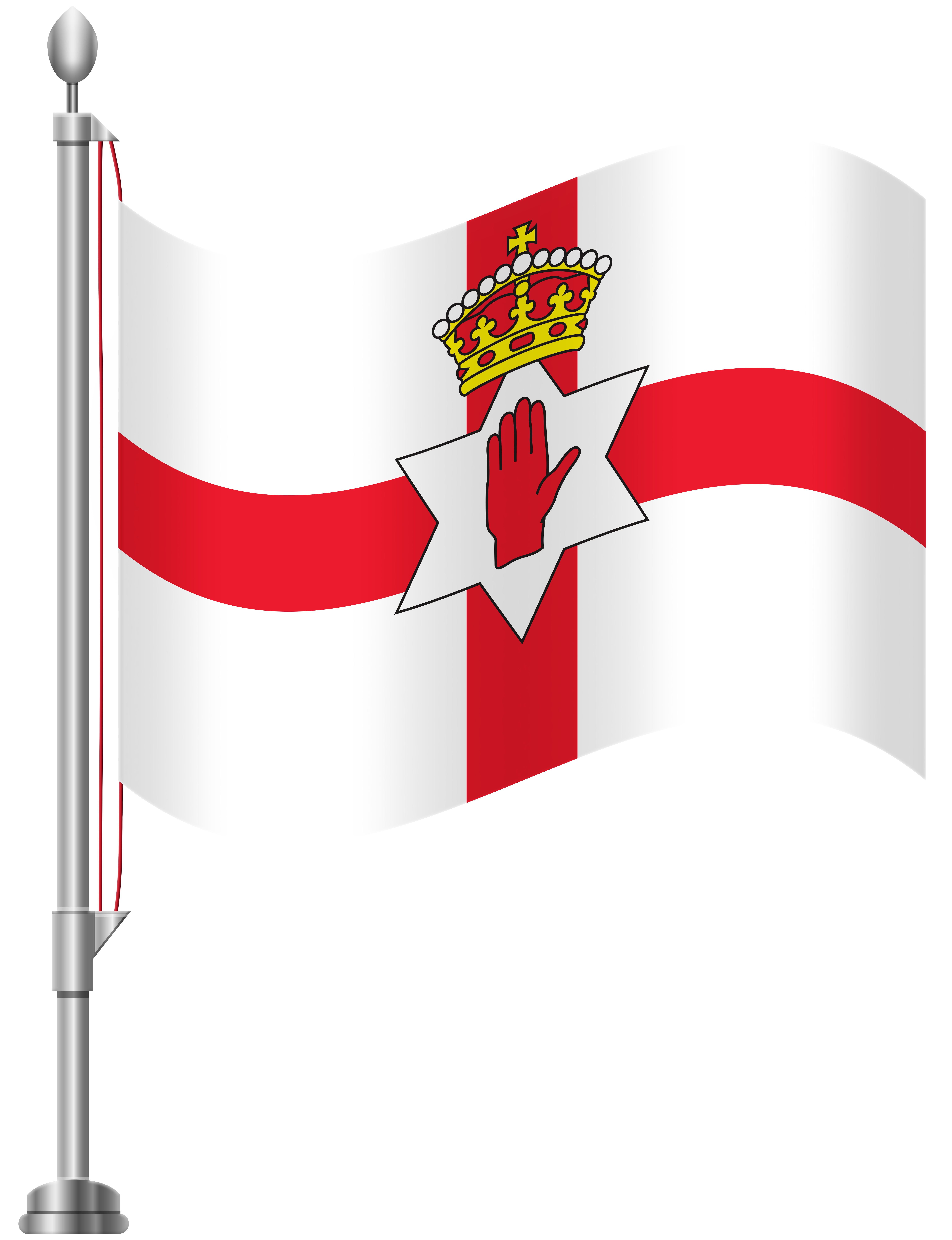 6141x8000 Northern Ireland Flag Png Clip Art