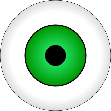 425x425 Free Download Of Tonlima Olhos Verdes Green Eye Clip Art Vector