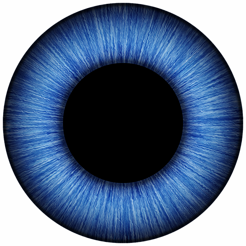 800x800 Blue Eyes Clipart Iris Eye