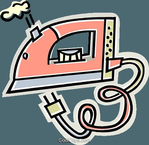 480x468 Iron Royalty Free Vector Clip Art Illustration Vc011627