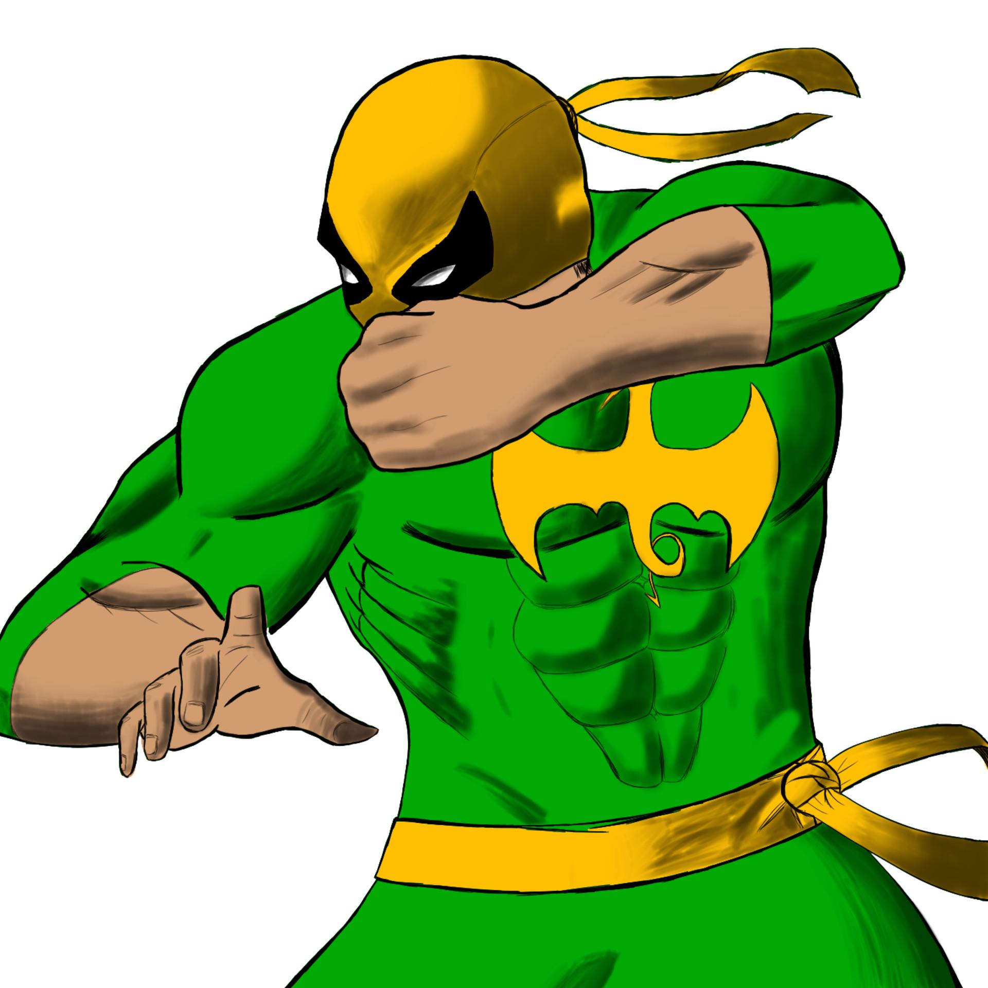 Iron Fist Clipart