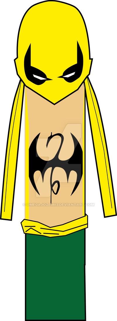 400x1091 I (Iron Fist Marvel Alphabet) By Omegajozemii3