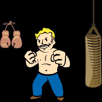 358x359 Iron Fist Fallout Wiki Fandom Powered By Wikia