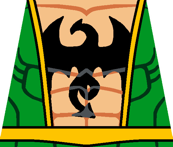 566x479 Iron Fist Open Torso A Custom Lego Iron Fist Open Torso