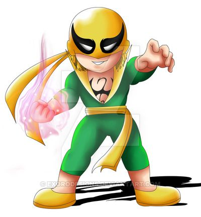400x432 Iron Fist By Pascal 2016 Exorodesigns] Marvel N Dc Comics