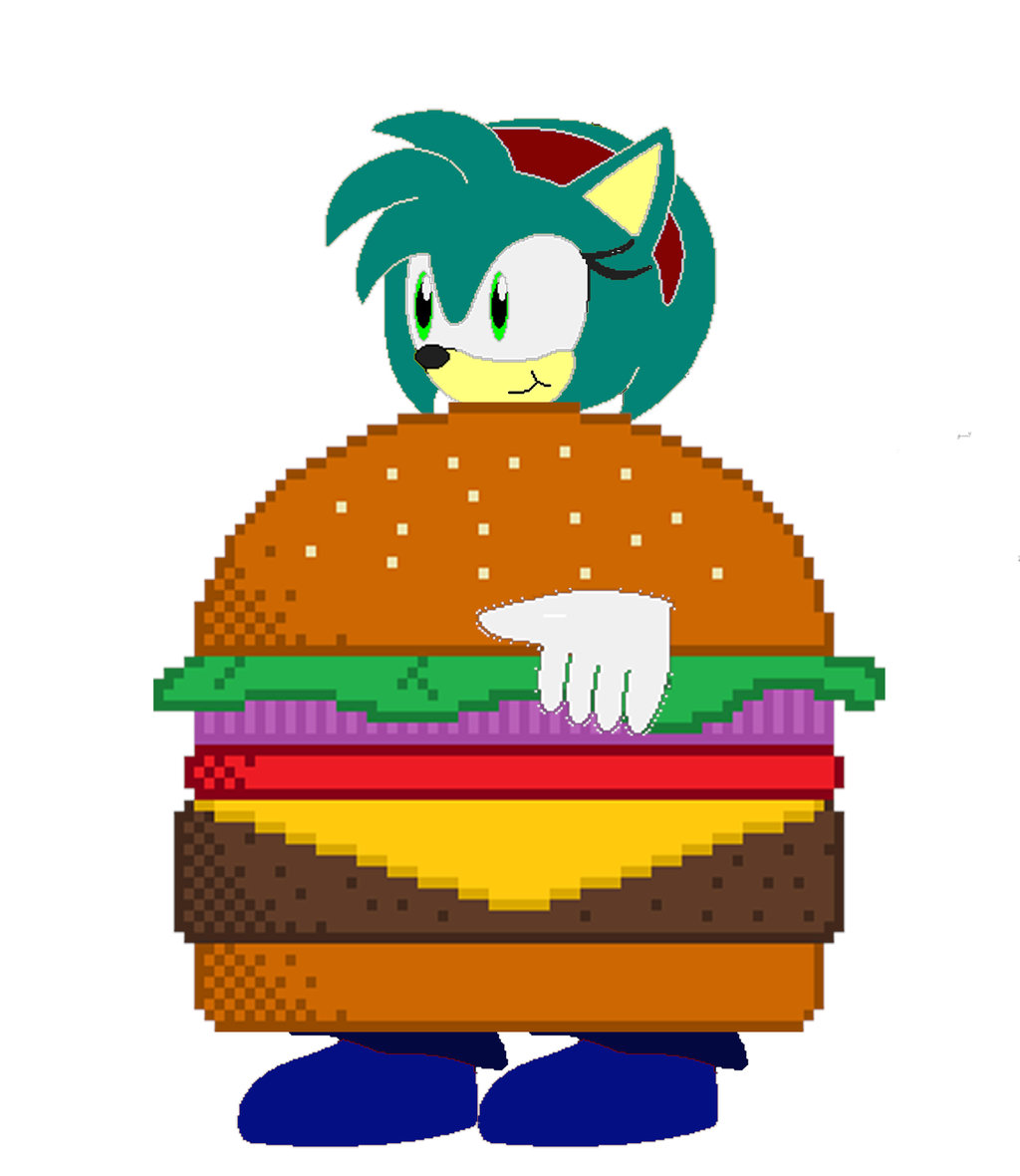 1024x1180 Jessie The Hedgehog (Burger) By Shade Iron Fist