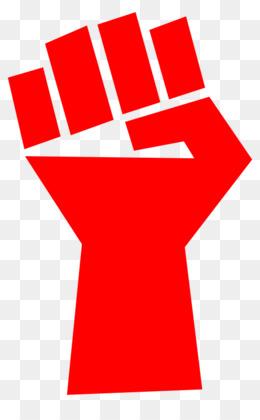 260x420 Russian Revolution Fist Clip Art