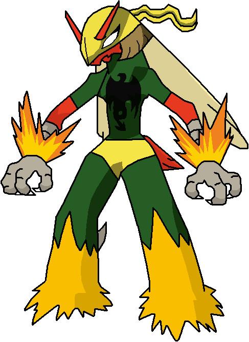 487x669 Usm Pokemon Iron Fist By Tashahemlock