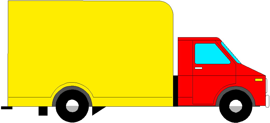 1022x466 Box Clipart Delivery Truck