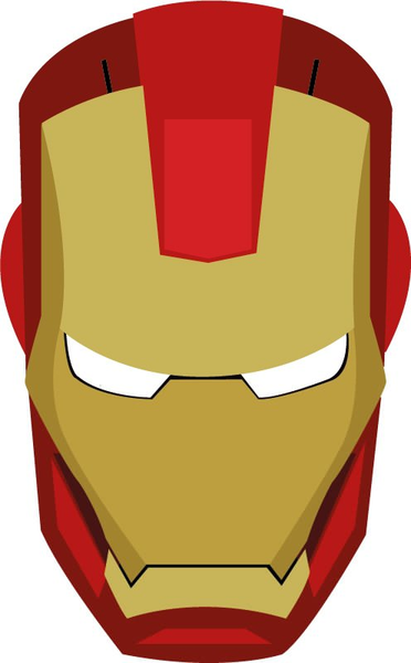 372x600 Iron Man Face Clipart Free Images