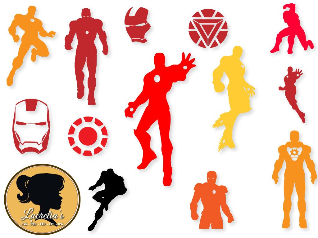1024x768 Iron Man Svg, Iron Man Clip Art, Digital Download For Silhouette