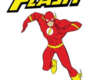 340x270 Flash Clipart Super Hero