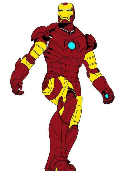 424x600 Iron Man Clip Art Ironman Clipart