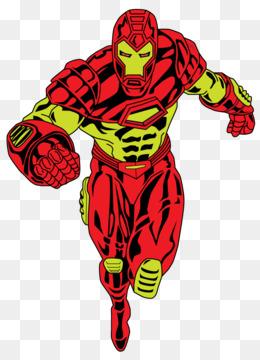 260x360 Iron Man Comics Film Clip Art
