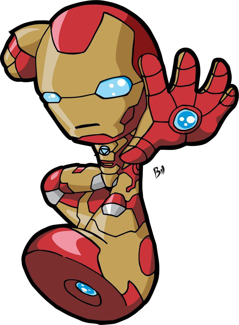 766x1043 Iron Man Kid Cartoon Clipart Png