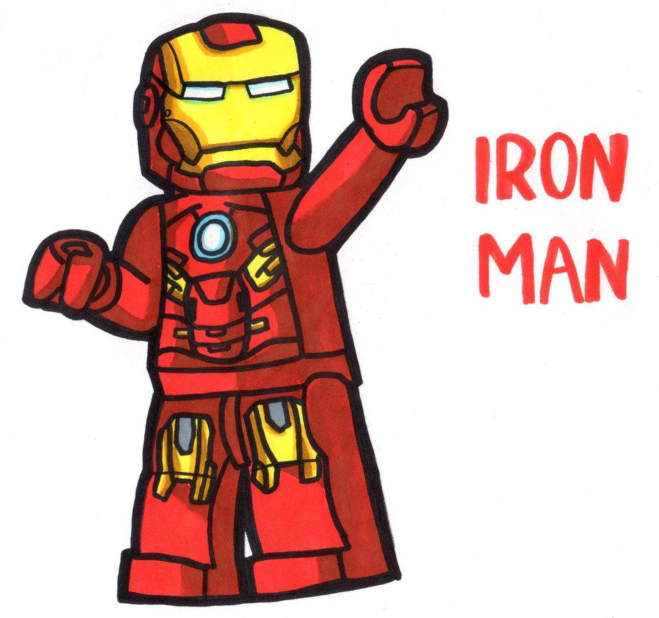 923x866 Iron Man Lego By Youcandrawit