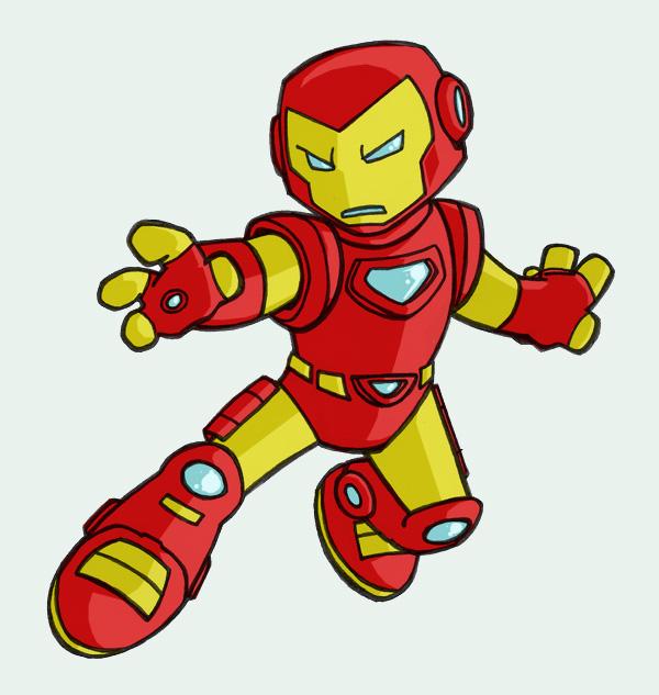 600x633 Lil Iron Man By Tyrannus