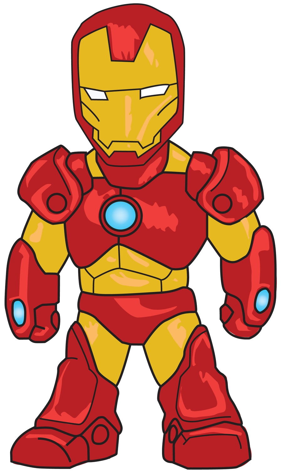 900x1513 Awesome Iron Man Clipart Design