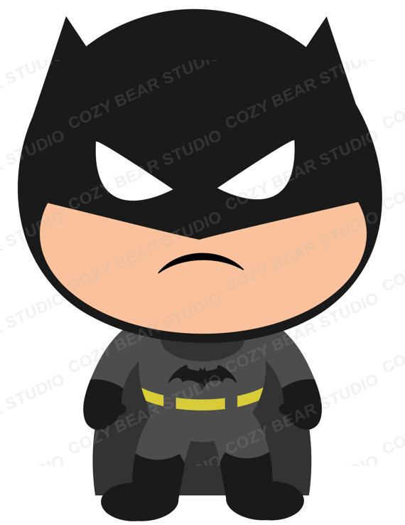 570x738 Superhero Clip Art