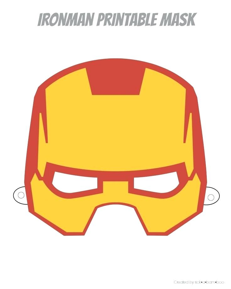 736x920 Iron Man Printable