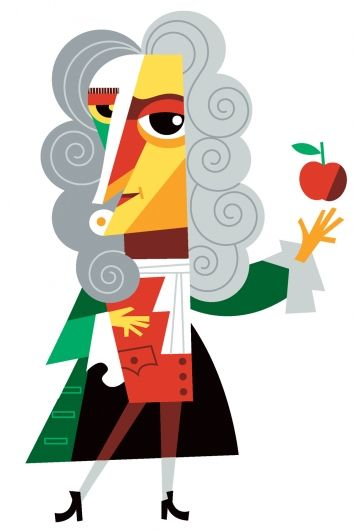 355x530 Isaac Newton Is Too Down To Earth For Realism Artsy Fartsy